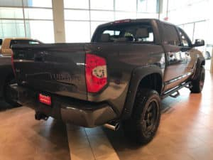 Toyota Tundra Custom Toyota of Naperville rear side