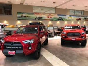 Toyota of Naperville Dealership Shot Facebook Custom
