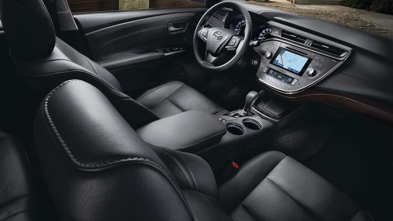 2018 toyota avalon interior front seat   toyota of naperville
