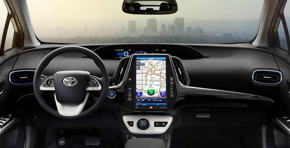 2018 Toyota Prius Interior Pictures