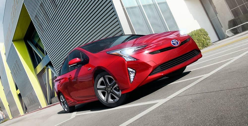 2018 Toyota Prius low angle