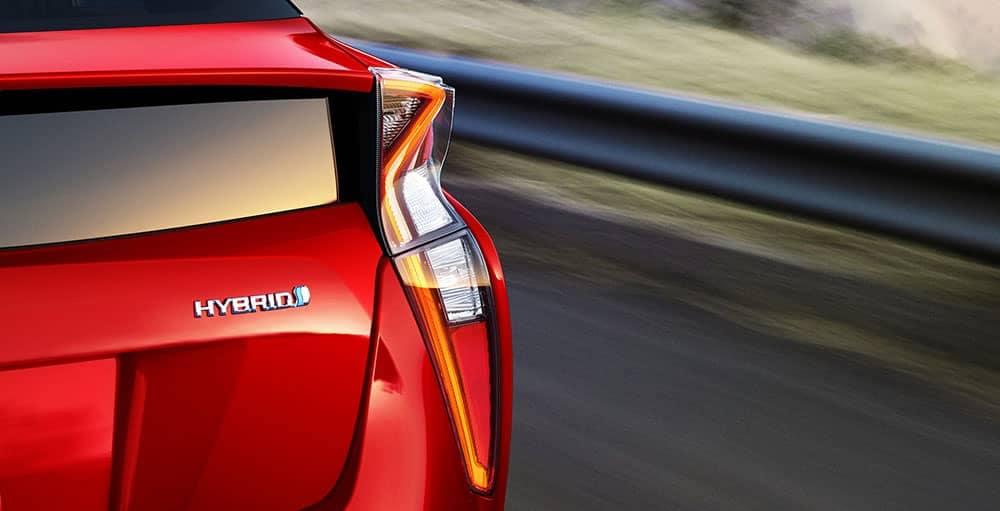 2018 Toyota Prius rear detail