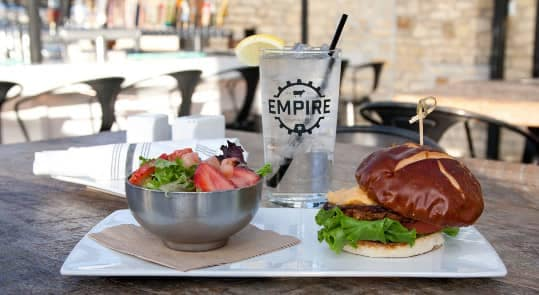 Empire Burger restaurant