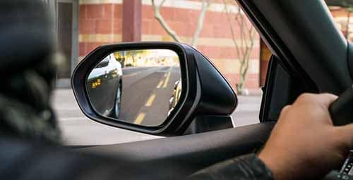 Toyota Camry Blind Spot Monitoring