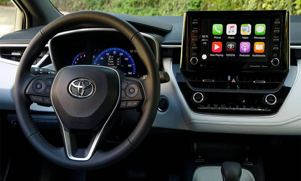 2019 Toyota Corolla Hatchback steering wheel