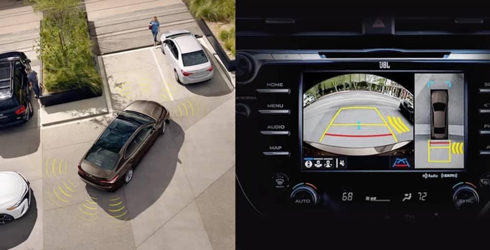 2018 Toyota Camry Birds Eye Camera