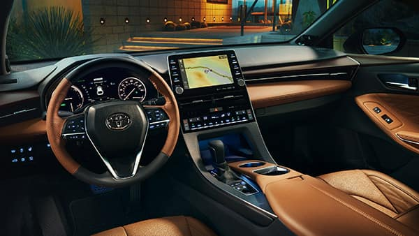 2019 Toyota Avalon Hybrid Limited interior