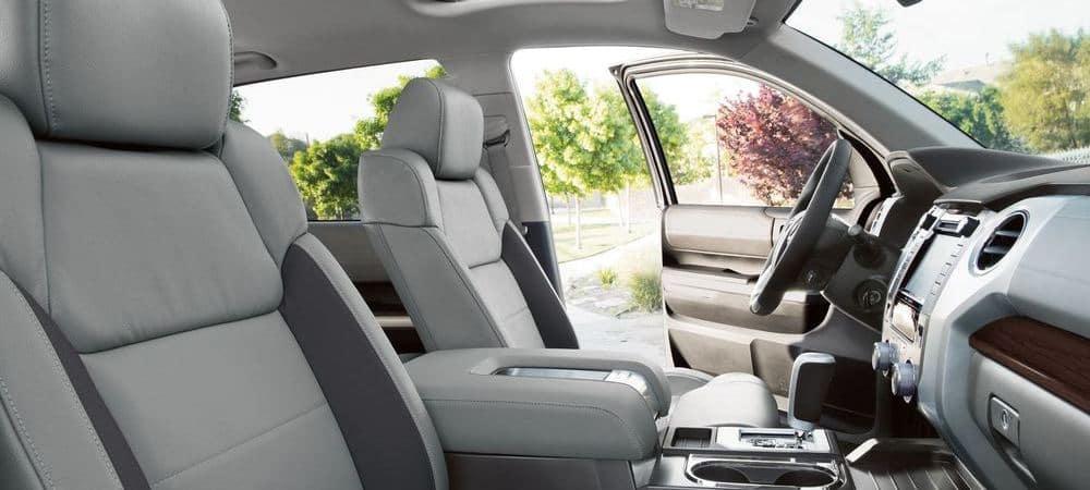 2018 Toyota Tundra Interior Front Seats