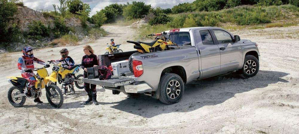 2018 Toyota Tundra With Dirt Bikes