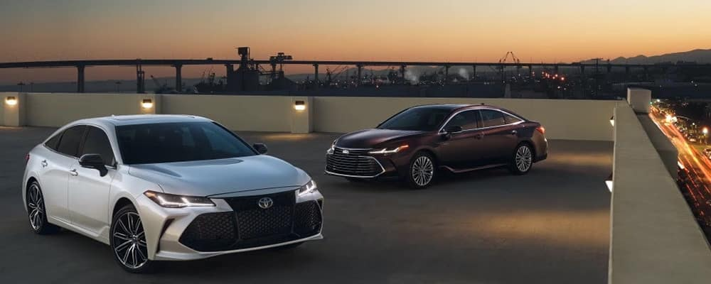 2019 Toyota Avalon Touring and Hybrid Models