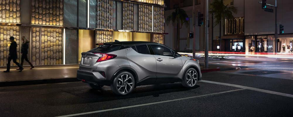 2019 Toyota C-HR on street