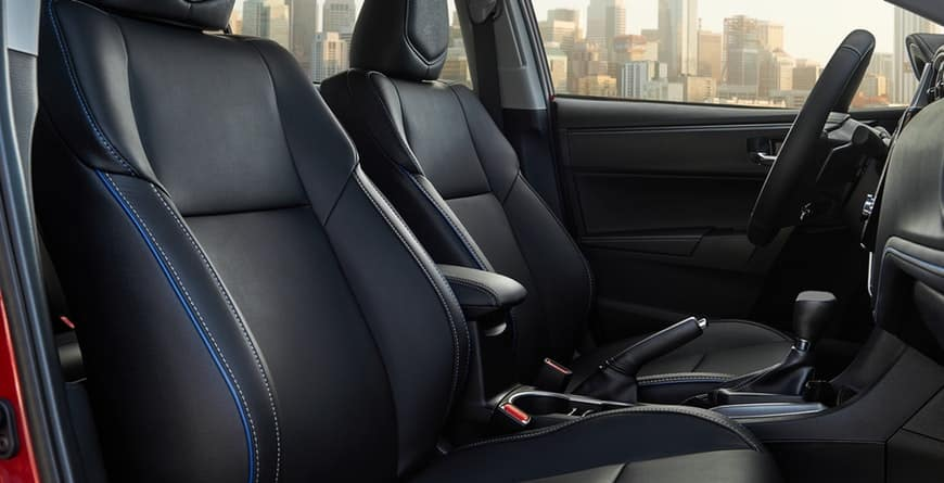 2019 Toyota Corolla Softex Available Seats