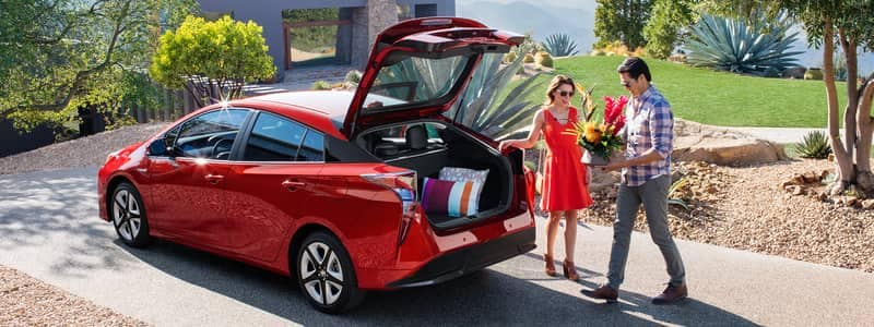 2018 Toyota Prius Open Hatch Storage Space