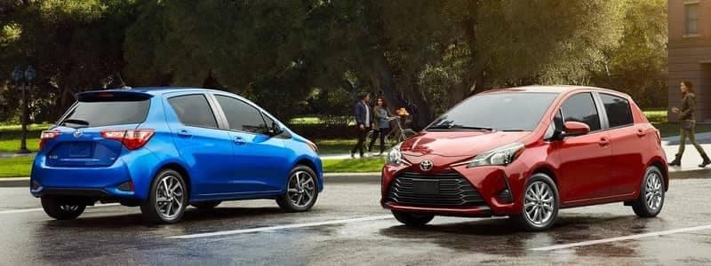 2018 Toyota Yaris Models