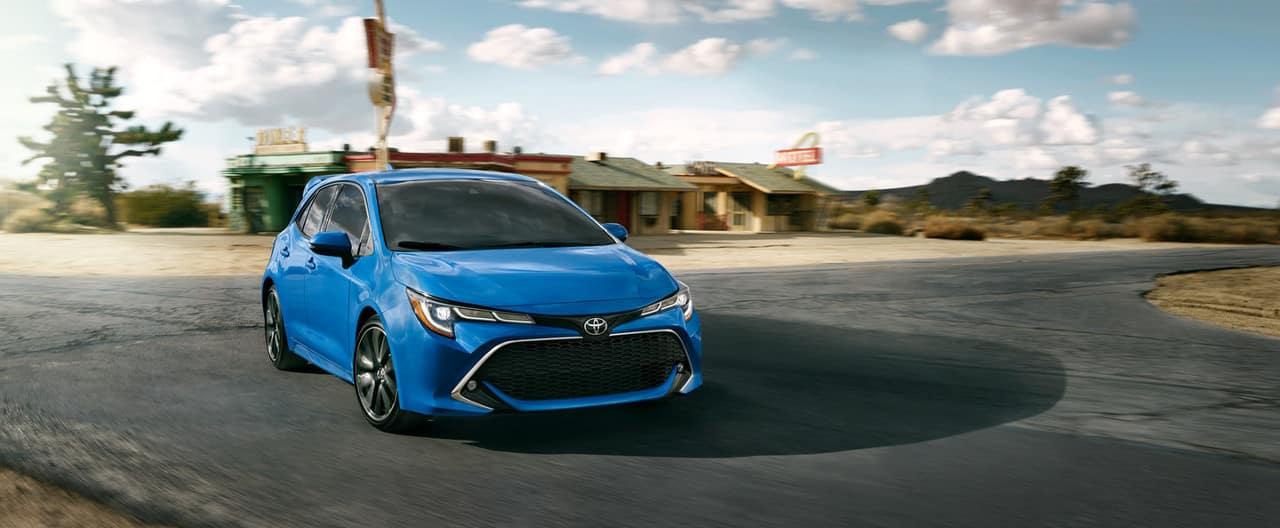 2019 Toyota Corolla Hatchback in Blue