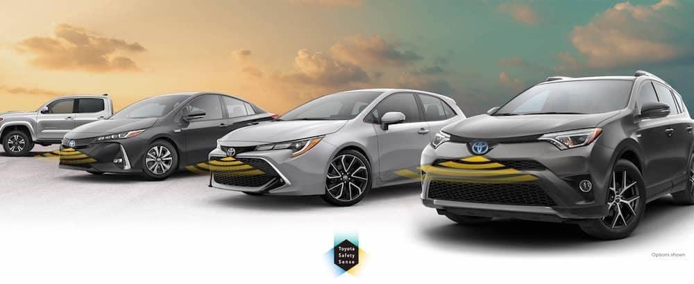 Toyota Safety Sense Vehicles