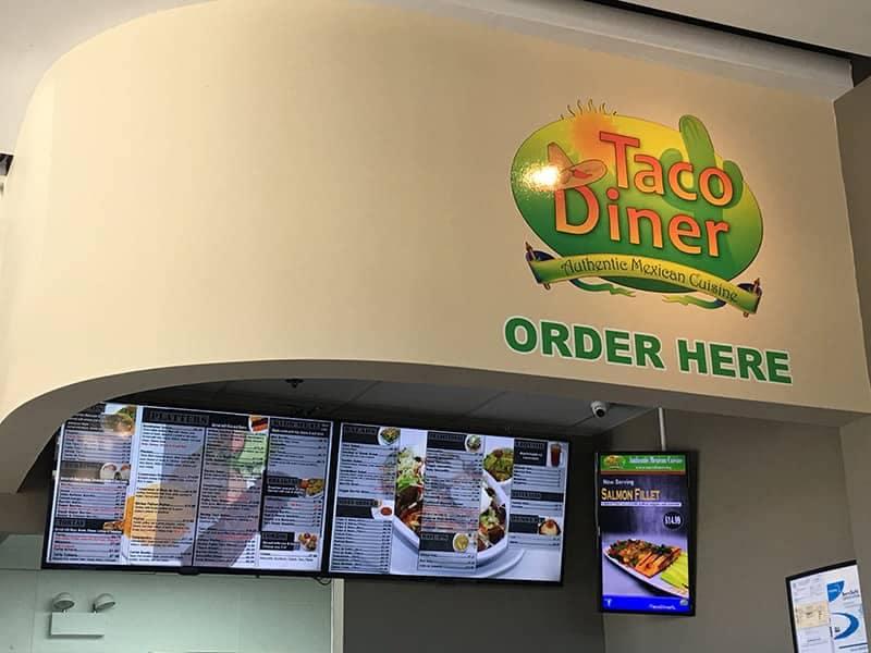 Taco Diner Ordering Station