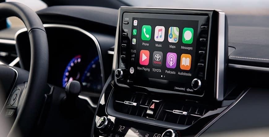 Apple CarPlay in the 2019 Corolla Hatchback