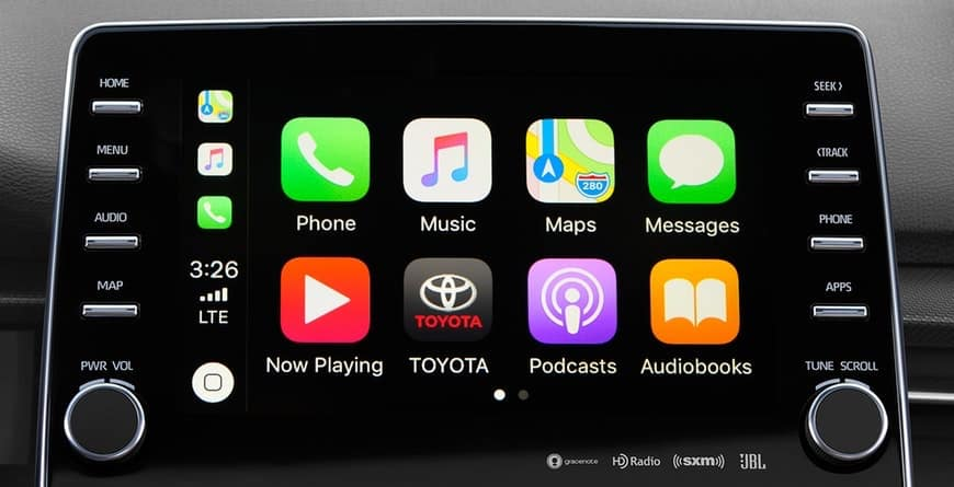 Apple CarPlay in the 2019 Toyota Avalon