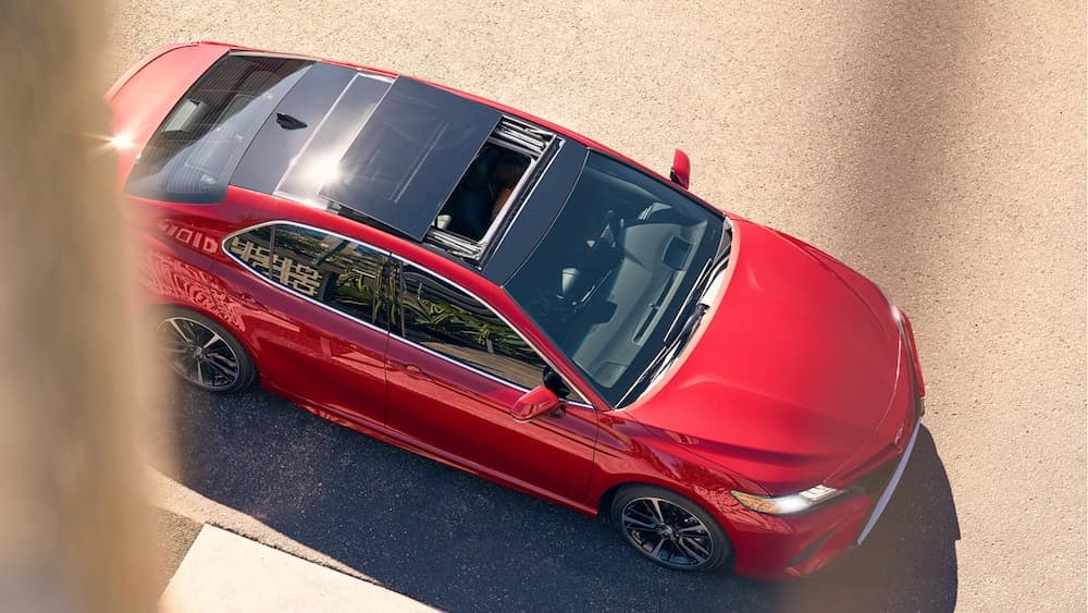 2019 Camry with Sunroof