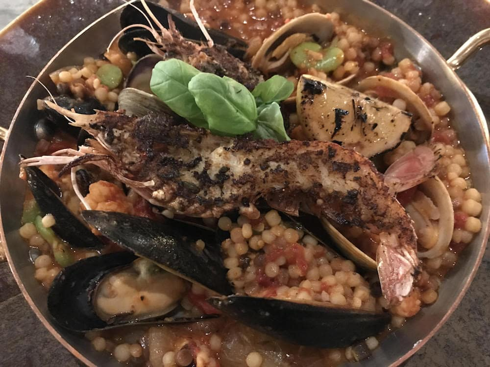 Seafood Paella at Che Figata