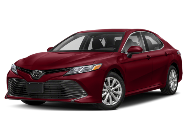 Red 2020 Toyota Camry thumbnail