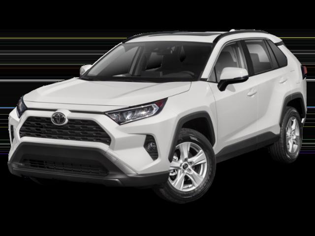 White 2020 Toyota RAV4 thumbnail