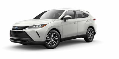 2021 Toyota Venza LE in white.