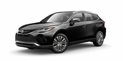 2021 Toyota Venza Limited in black.