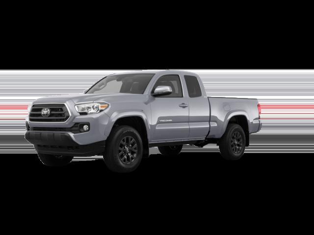 2021 grey Toyota Tacoma Limited.