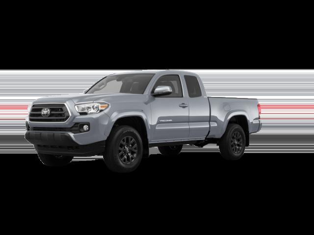 2021 Toyota Tacoma SR silver color.