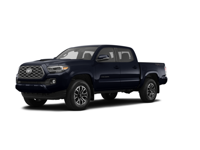 2021 Toyota Tacoma TRD Pro black color.