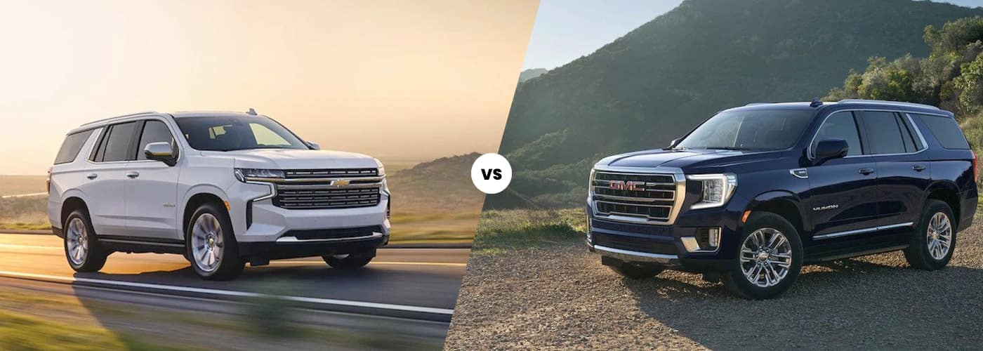 Tahoe vs. Yukon comparison