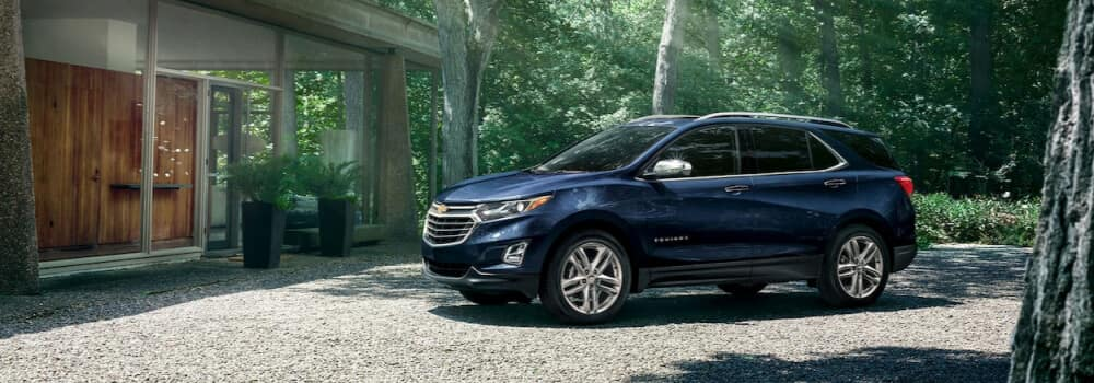 Chevy Equinox Parked in Front of Home