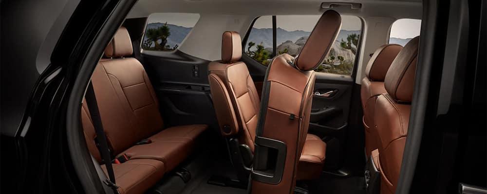 Chevy Traverse Interior Seating