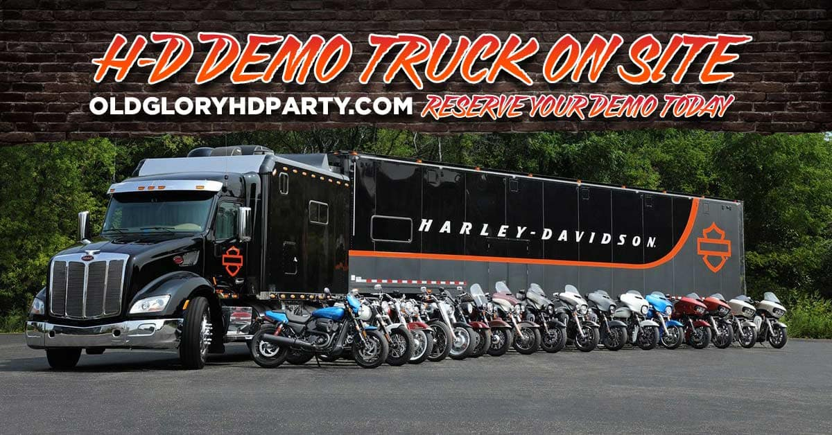 Harley Demo Truck is coming to Laurel, Maryland