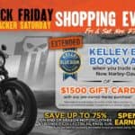Black Friday 115% Kelley Blue book Value or $1500 Gift Card on Pre-Owned