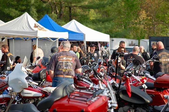 Vendor Opportunities at Biker Events