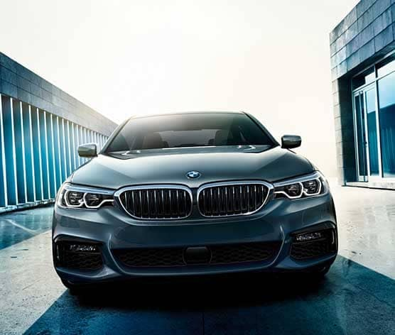 2018 BMW 5 Series front exterior