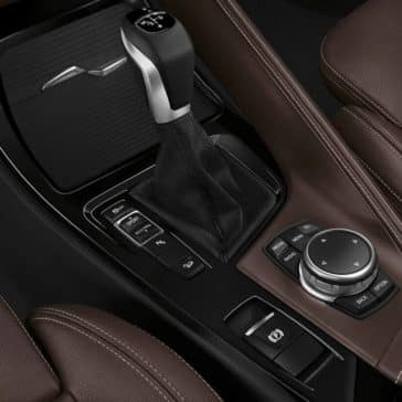 2018 BMW X1 center console