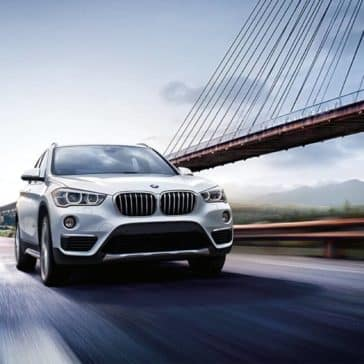 2018 BMW X1 on road