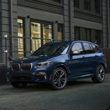2018 BMW X3 M40i parked