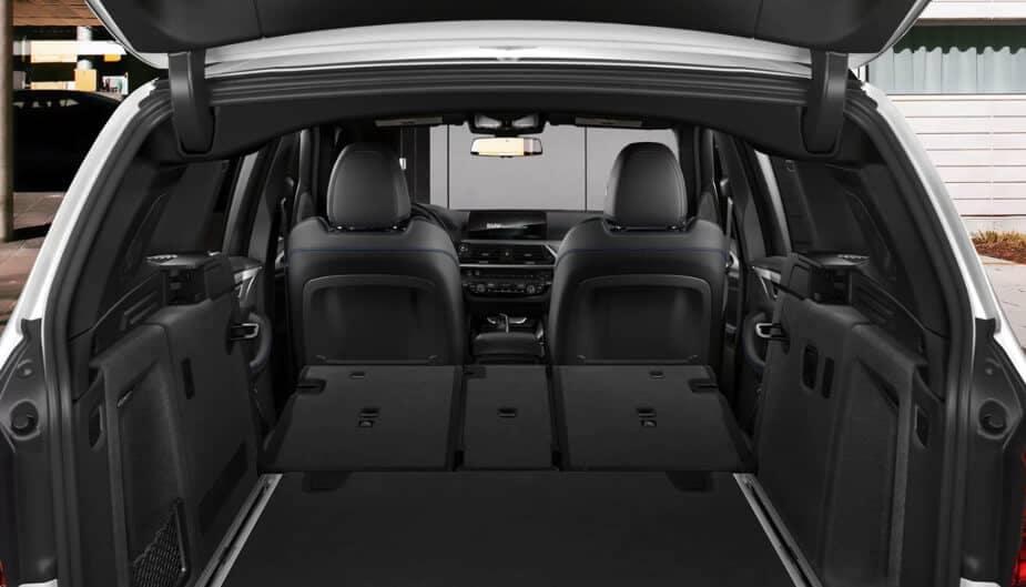 2018 BMW X3 cargo space