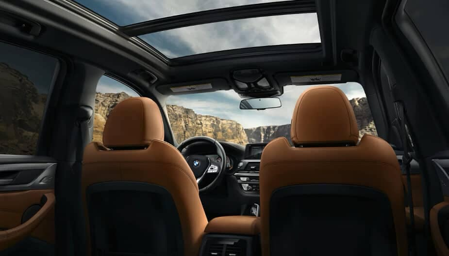 2018 BMW X3 panoramic roof