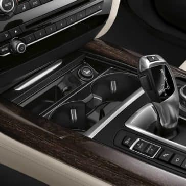 2018 BMW X5 center console controls