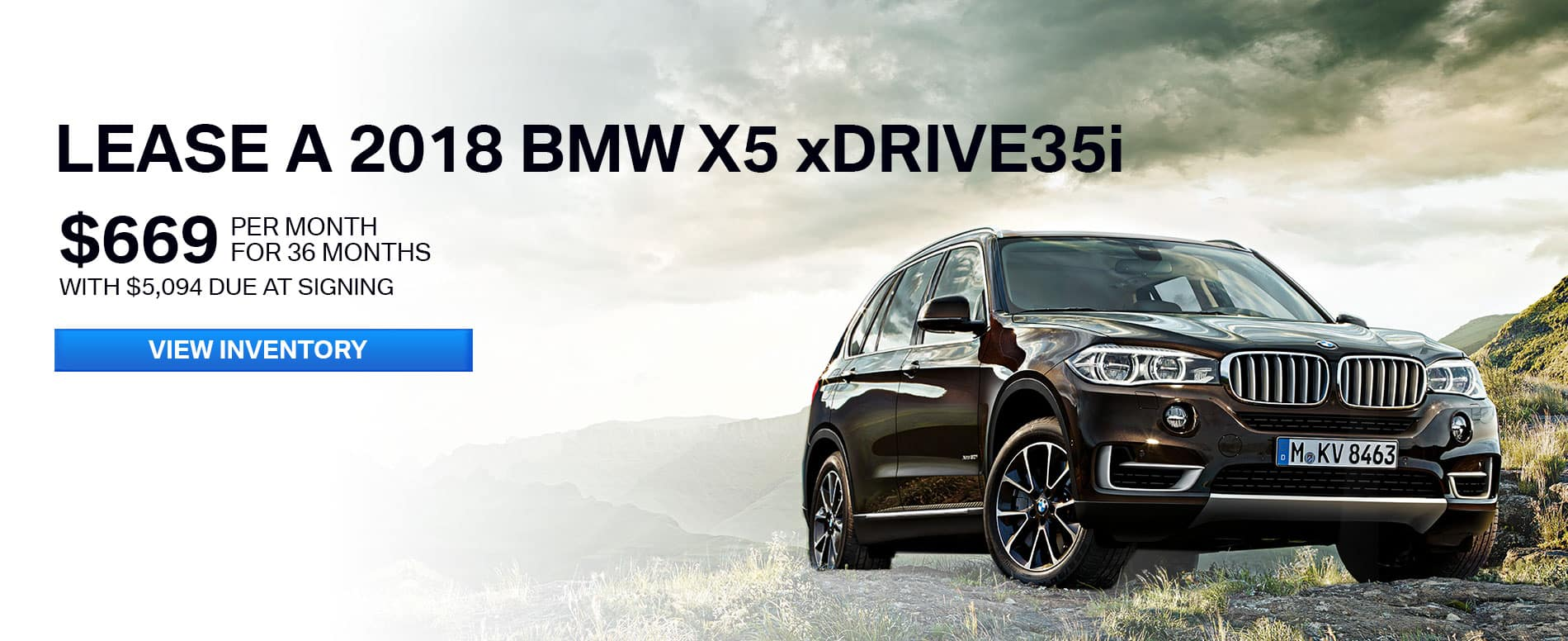 BMW Lease Offer June 2018