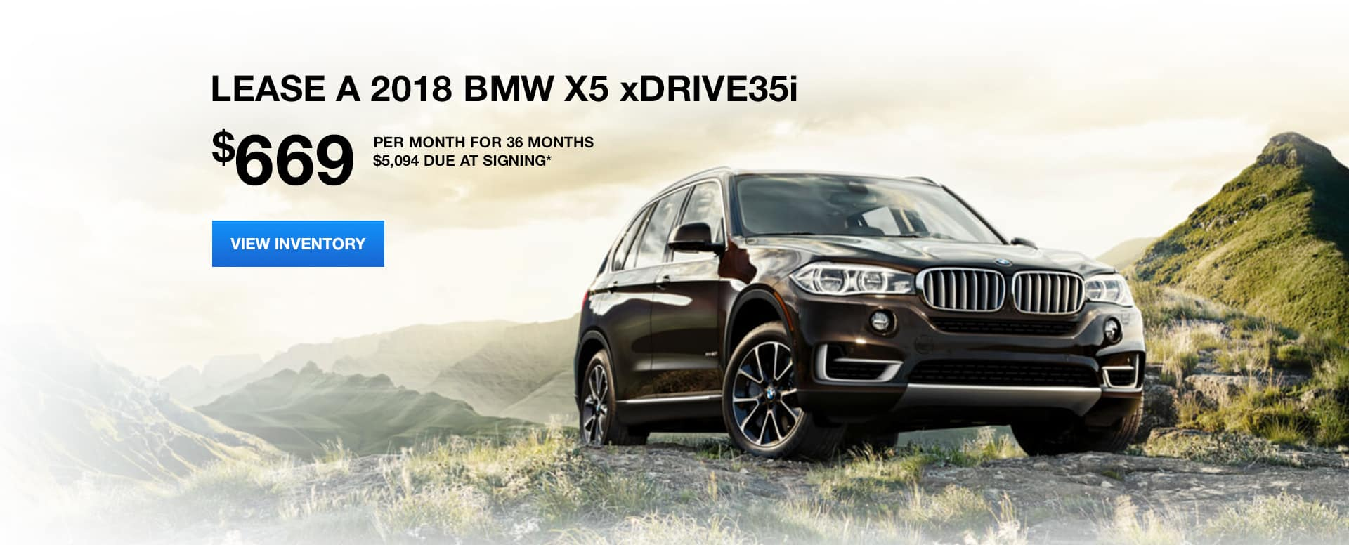 x5 sDrive October Lease Offer