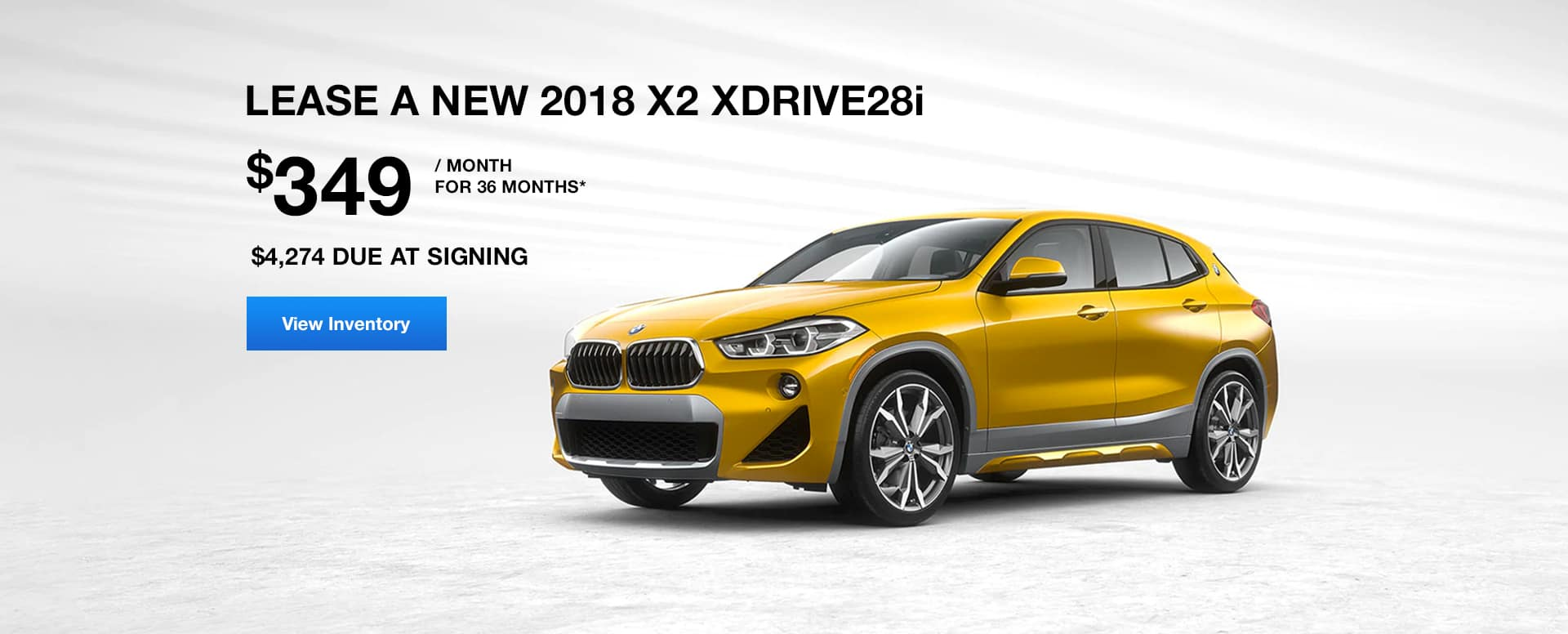 x2 xDrive October Lease Offer