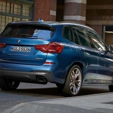 2019 BMW X3 Rear