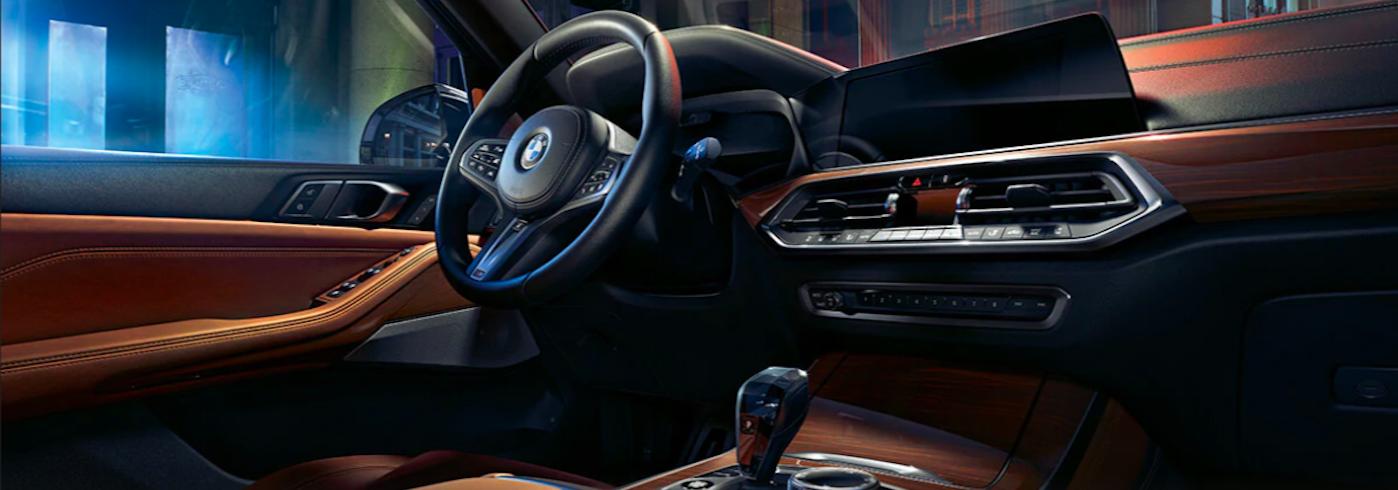 BMW X-5 Dash View